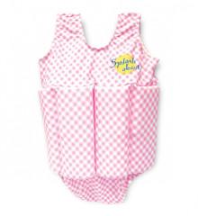 Dětský plováček - plavečky růžová kostka