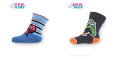 Dětské bavlněné ponožky New Baby Vel. 98 (2-3 r)