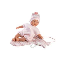 Panenka - New born holčička Llorens 30 cm Cuquita