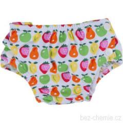 Plenkové plavky barevné ovoce L ( 3 -9 kg)