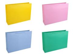 Dárková taška jednobarevná Maxi 45 x 32 cm