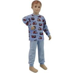Bavlněné pyžamo hasiči modré Esito vel. 80 - 122