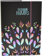 Desky na sešity Heft box A4 Junior fashion kytky NEW 2017