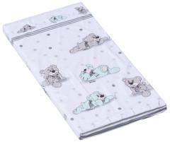 Molitanová matrace do postýlky Scarlett Patrik tyrkysová 120 x 60 x 6 cm