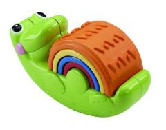 Fisher Price skládačka krokodýl