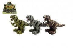 Dinosaurus chodící na klíček plast 12cm