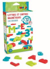 Magnetická písmena a čísla 72ks Smoby