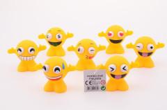 Legrační figurky s obličeji smajlíků