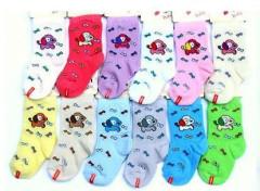 Kojenecké ponožky pejsek 6-12 m Růžové