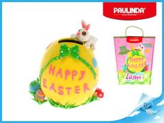 Paulinda Happy Easter 40g+8g pokladnička vejce s doplňky v krabičce