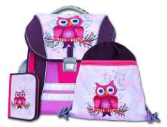 Školní batohový set Sova 3-dílný EMIPO