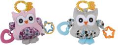 Edukační hračka s vibracemi a melodíí sovička Sunbaby