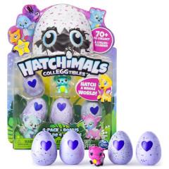 Hatchimals sběratelská zvířátka ve vajíčku ČTYŘBALENÍ S BONUSEM
