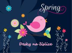 Desky na číslice Premium Spring