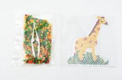 Zažehlovací korálky žirafa plast 650ks v sáčku