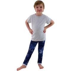Dětské tričko jednobarevné Šedé