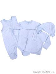 4-dílná kojenecká souprava Koala Amorek modrá s hvězdičkami vel. 62