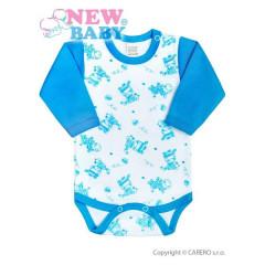Kojenecké body New Baby Zebrababy II modré