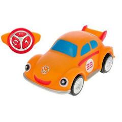 R/C Volkswagen Beetle oranžový 18cm 2,4GHz na baterie 4zvuky 18m+