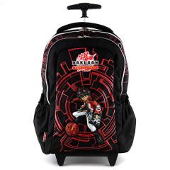 Školní batoh trolley Bakugan - 3D nášivka I.