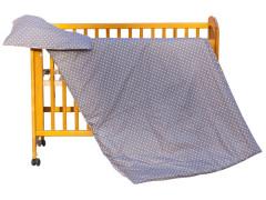 Dětské povlečení 2dílné - Scarlett Puntík - hnědá 100x135 cm