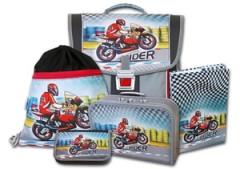 Školní aktovkový set Rider 5-dílný Emipo