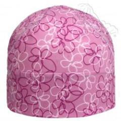 Funkční letní čepička růžové květy Coolmax RDX