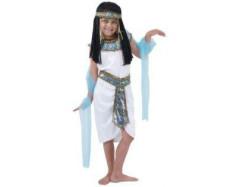 Karnevalový kostým - Egyptská královna, Vel. 110 - 120 cm