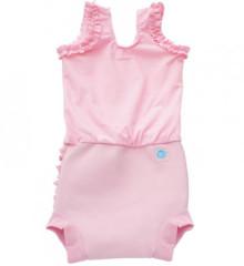 Plavky Happy Nappy kostýmek - Růžový kanýrek