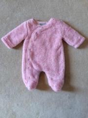 Zimní kombinéza zateplená Melírek růžová bez kapuce Baby Service