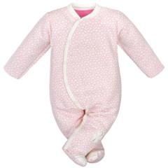 Zimní kombinéza mikrotermo úplet čtyřlístek Baby Service