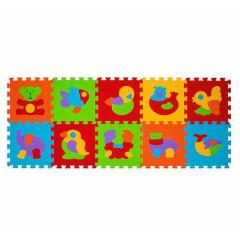 Pěnové puzzle BabyOno 30 x 30 cm 10ks ZVÍŘATA