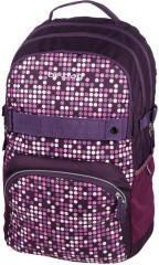 Studentský batoh be.bag cube SVĚTLA.