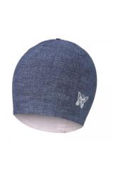 Čepice podšitá Jeans Outlast® Jeans / růžová baby