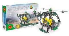 Malý konstruktér - Patrol Vrtulník 280 ks dílků