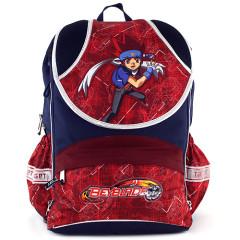 Školní batoh Beyblade - Modro-červený