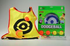 Dvě vesty s míčky - dodgeball - vybíjená