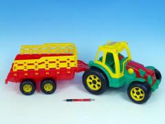 Traktor s vlekem 75 cm