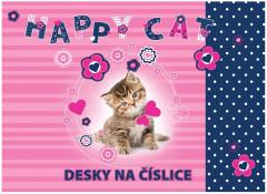 Desky na číslice Kočka 2016 NEW