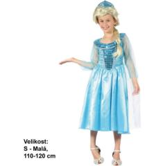 Kostým na karneval - Ledová princezna, 110-120 cm