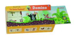 Domino Krtek dřevo společenská hra 28 dílků v dřevěné krabičce