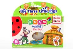Magnetické divadlo Tři malá prasátka