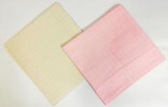 Sada bavlněných TETRA osušky 90x100 cm 2 ks - Růžová +natural