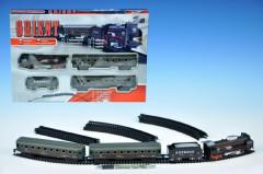Orient Vlak osobní + 3 vagóny na baterie se světlem