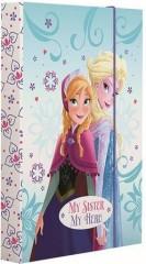 Heft box A4 Frozen III. My sister