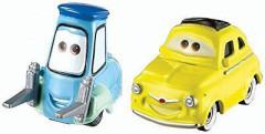 Cars3 auta LUIGI + GUIDO
