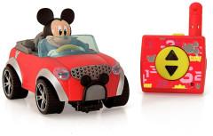 Mickey Mouse R/C cabriolet 16cm 2,4GHz na baterie 18m+ v krabičce