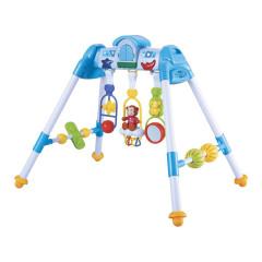 Dětská hrající edukační hrazdička De Lux Baby Mix blue