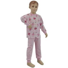 Bavlněné pyžamo balerina růžová Esito vel. 86 - 122