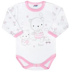 Kojenecké body New Baby Bears Růžové